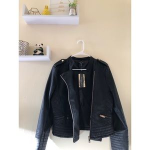 Jackets & Blazers - Faux Leather Jacket - Brand New!